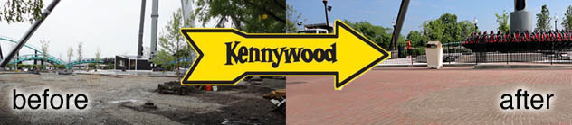 Paving Stones at Kennywood Park - Commercial Walkways and Driveways
