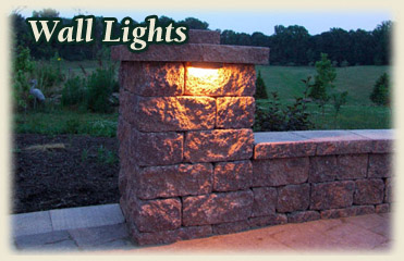 Lighting for your driveway or patio.- Paver Lighting